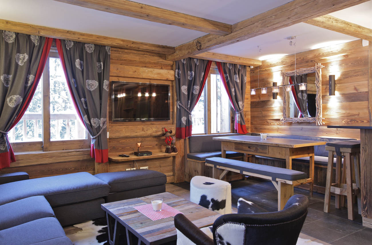 rent chalet by the week Courchevel