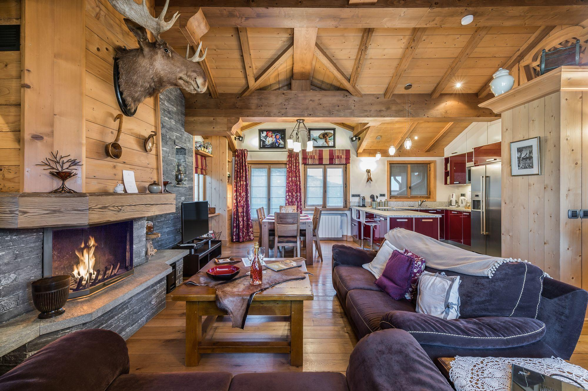 luxury villa rental Courchevel