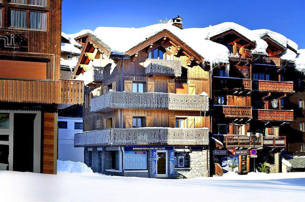 ski resort of Courchevel Atique