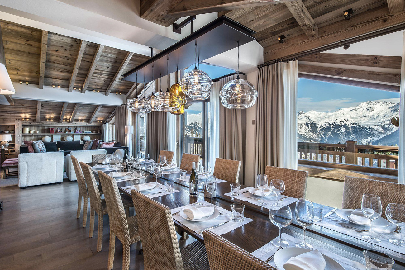 rental villas Courchevel