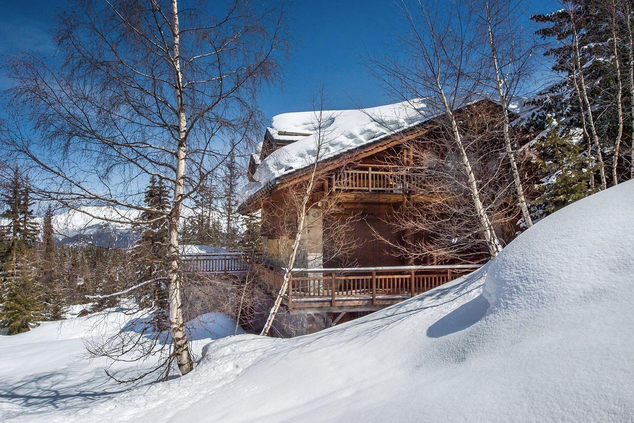 luxury ski chalets Irade