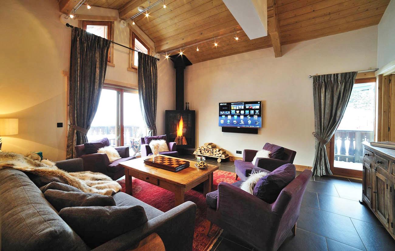 ski resort of Courchevel Laure