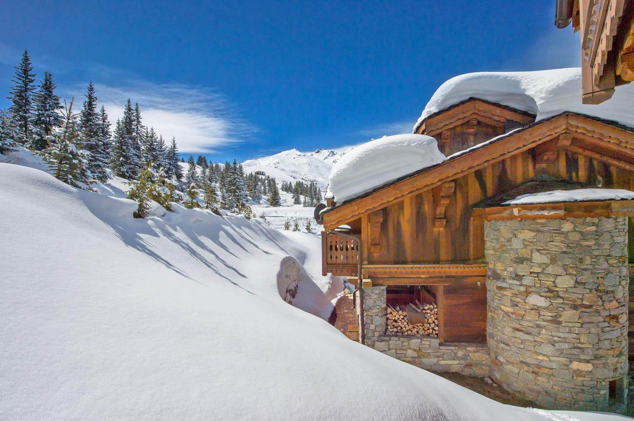 luxury ski in France Madi