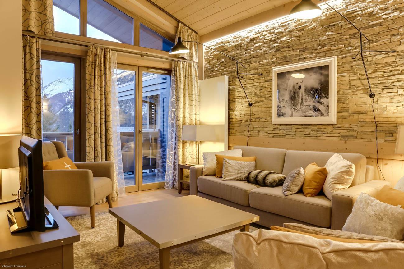 luxury ski in France Martin