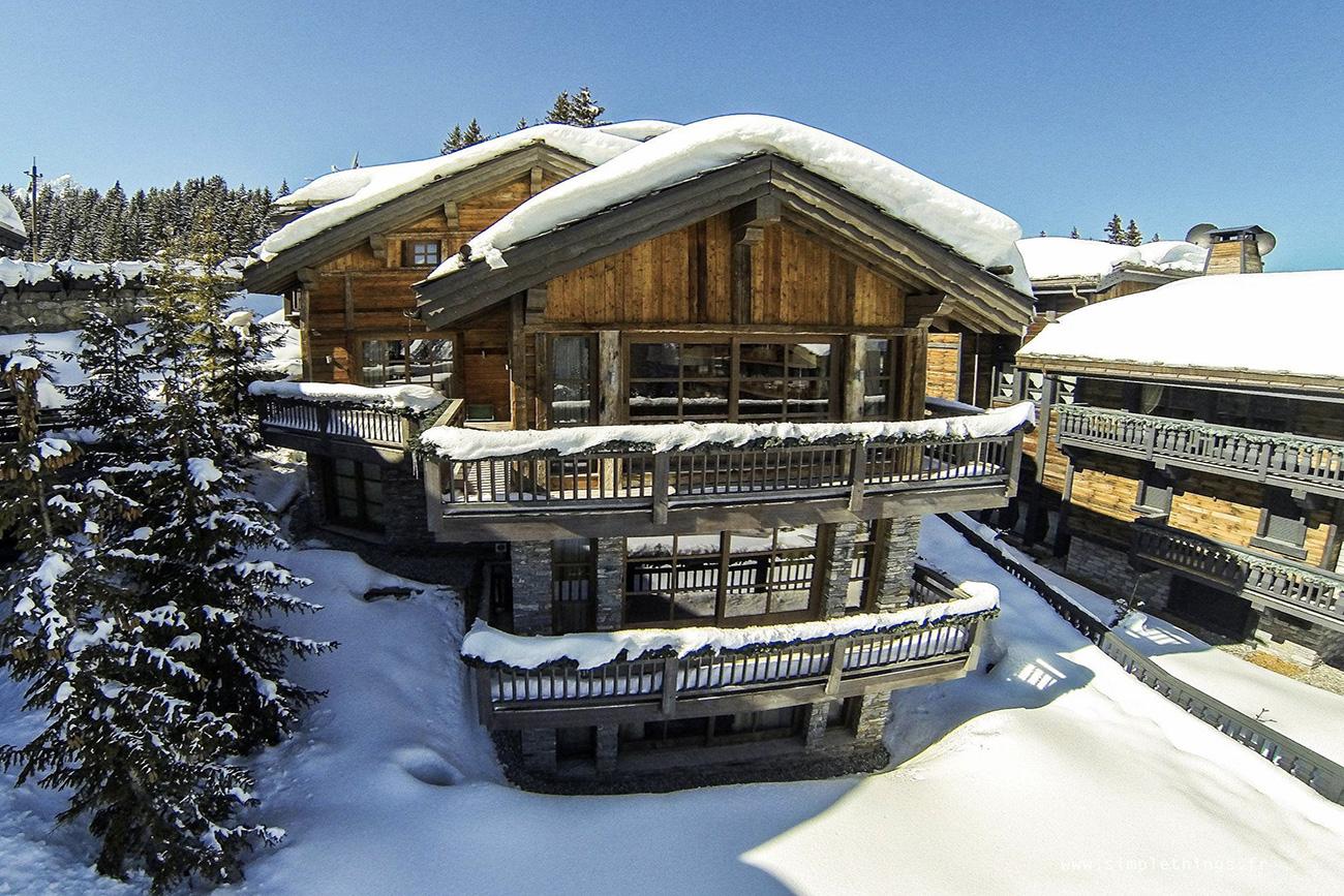 luxury ski in France Courchevel