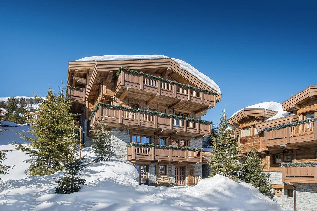 luxury ski chalets Nano