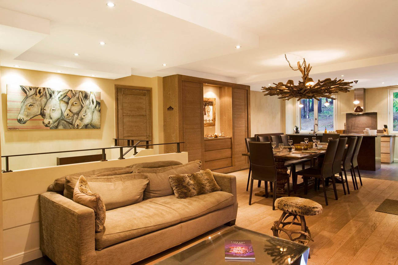 vacation villa rentals Courchevel