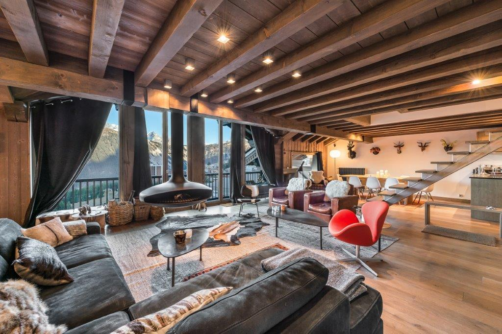 Luxury chalets and apartments in Courchevel Pras