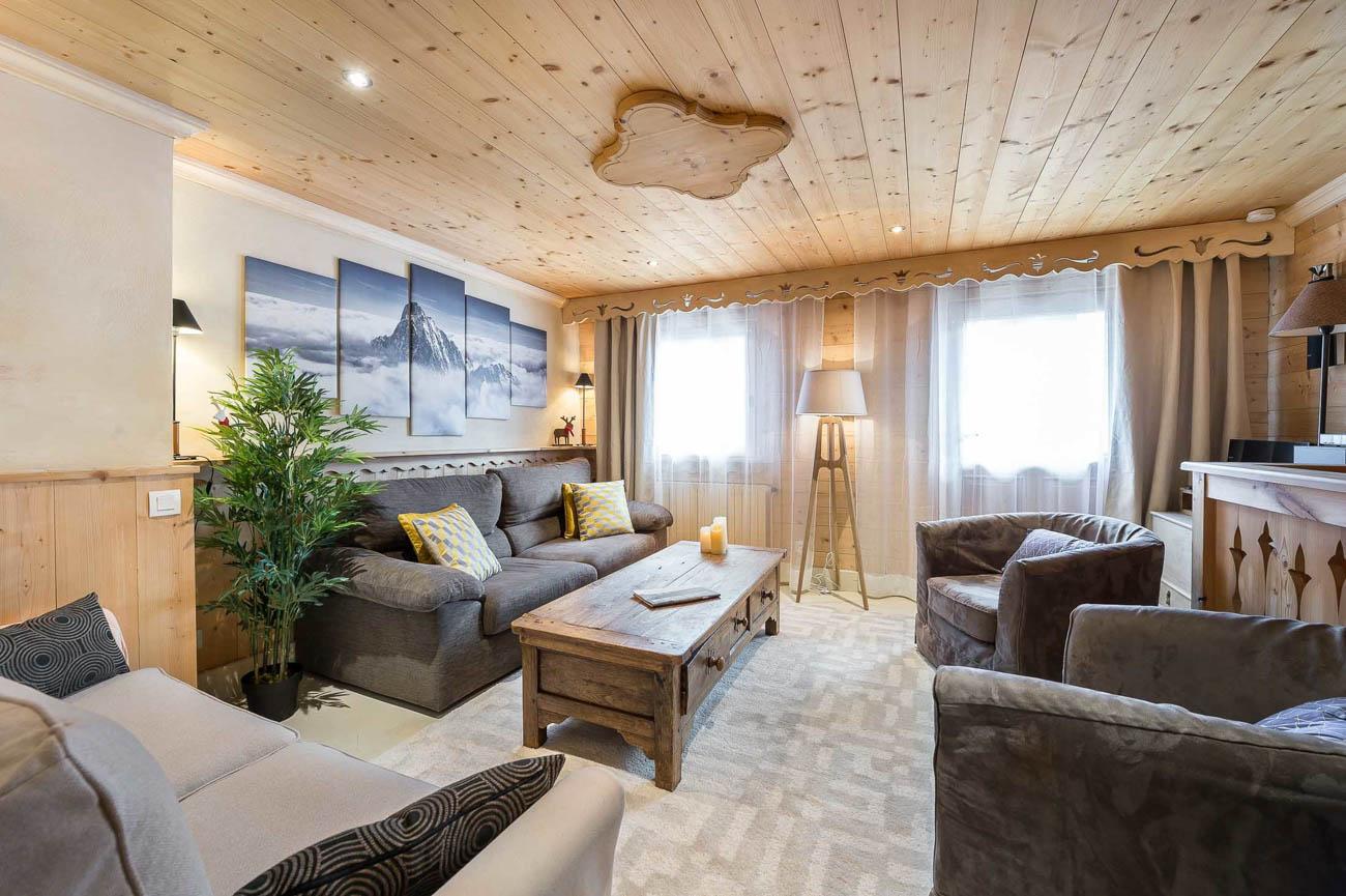 luxury vacation rental Courchevel