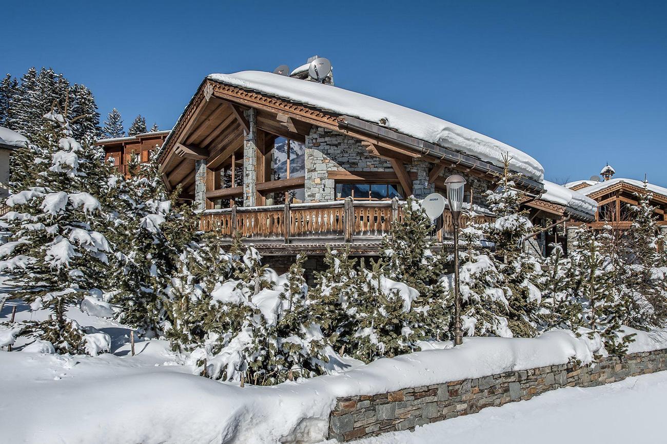 ski resort of Courchevel Courchevel